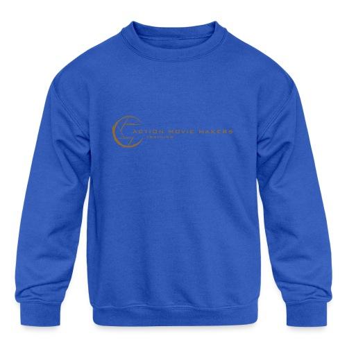 AMMT Logo Modern Look - Kids' Crewneck Sweatshirt