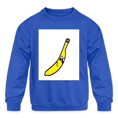 BANANA - Kids' Crewneck Sweatshirt