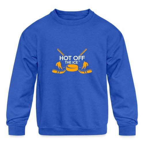 Hot Off The Ice - Kids' Crewneck Sweatshirt