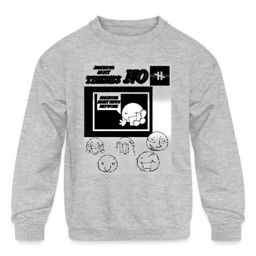 BRIGHTER SIGHT NEWS NETWORK - Kids' Crewneck Sweatshirt
