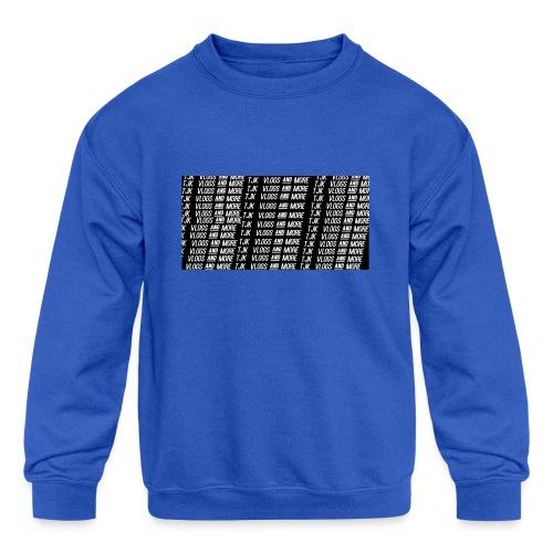 TJK First Apparel Design - Kids' Crewneck Sweatshirt