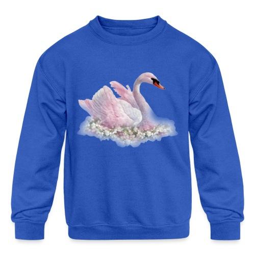 Swan 2 - Kids' Crewneck Sweatshirt