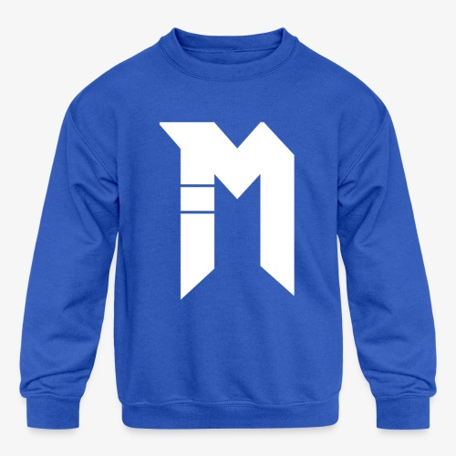Bestsellers white logo - Kids' Crewneck Sweatshirt