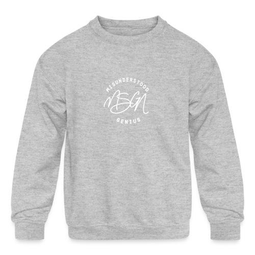 MSGN Logo - Kids' Crewneck Sweatshirt