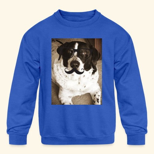 Old Pongo - Kids' Crewneck Sweatshirt