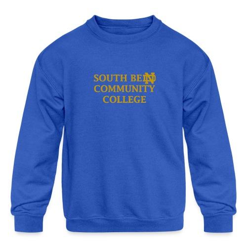 Notre Dame Community College - Kids' Crewneck Sweatshirt