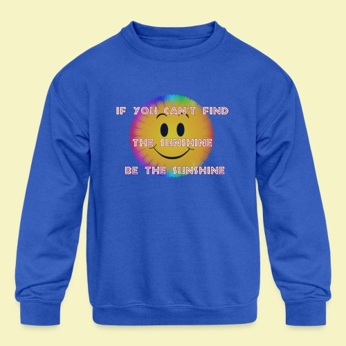 Sunshine - Kids' Crewneck Sweatshirt