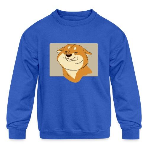 cute puppy 2018-2019 - Kids' Crewneck Sweatshirt