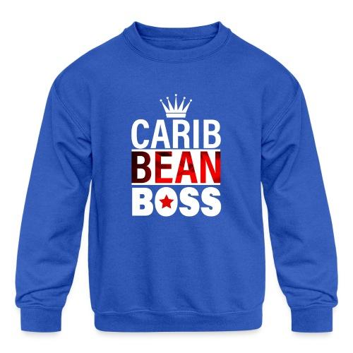 Caribbean Boss - Kids' Crewneck Sweatshirt