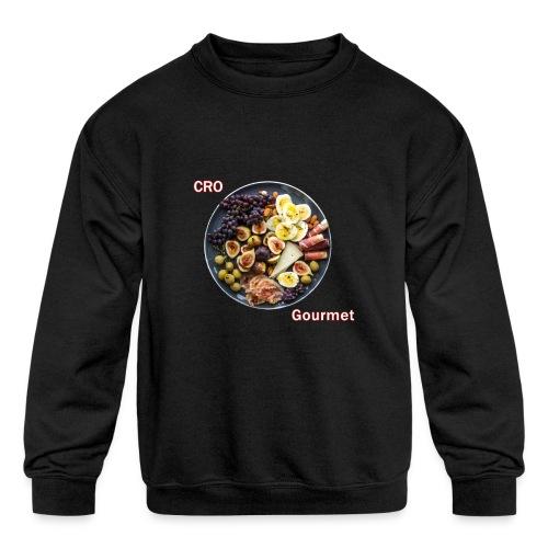Croatian Gourmet - Kids' Crewneck Sweatshirt