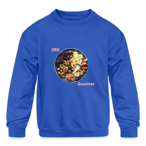 Croatian Gourmet - Kids' Crewneck Sweatshirt