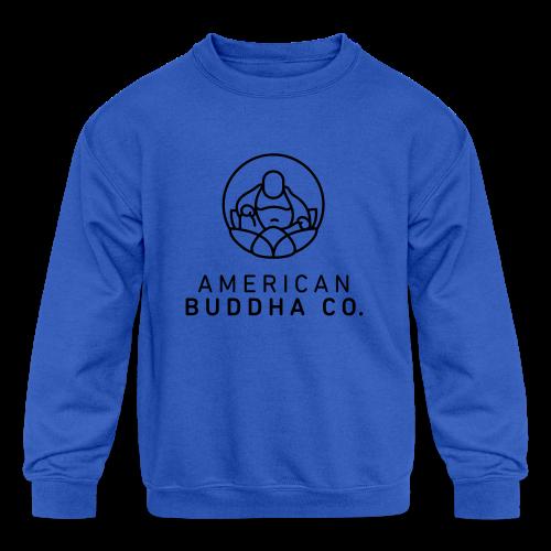 AMERICAN BUDDHA CO. ORIGINAL - Kids' Crewneck Sweatshirt