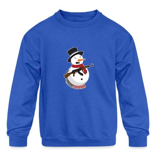 PRODBYSNOWMAN - Kids' Crewneck Sweatshirt