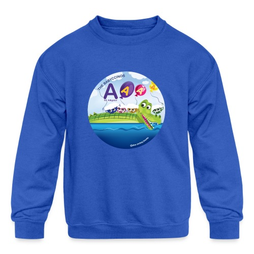 The Babyccinos The Letter A - Kids' Crewneck Sweatshirt