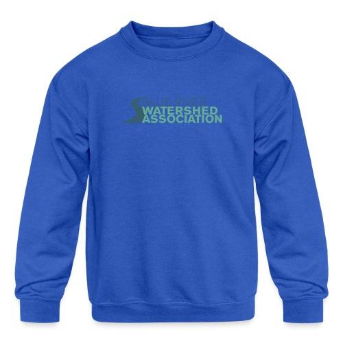 BRWA Logo - Kids' Crewneck Sweatshirt