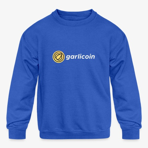 Garlicoin - Kids' Crewneck Sweatshirt