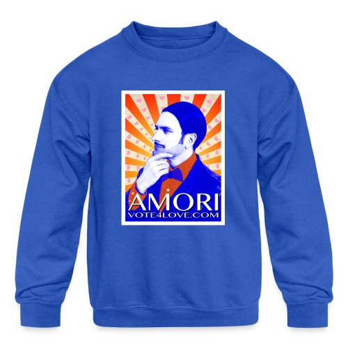 Amori_poster_1d - Kids' Crewneck Sweatshirt