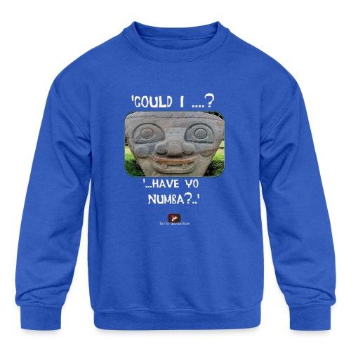 Alien Could I have your Number - Kids' Crewneck Sweatshirt