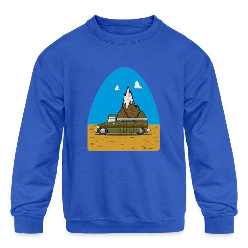 faith moves mountains 2018 - Kids' Crewneck Sweatshirt