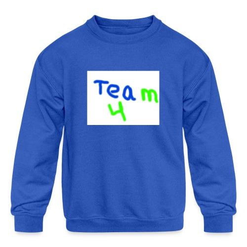 logo - Kids' Crewneck Sweatshirt