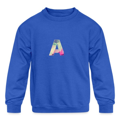 Amethyst Merch - Kids' Crewneck Sweatshirt
