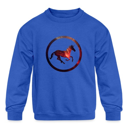 Believe Unicorn Universe 2 - Kids' Crewneck Sweatshirt