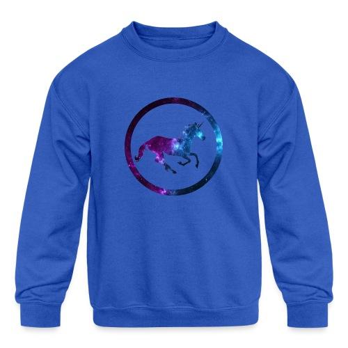 Believe Unicorn Universe 3 - Kids' Crewneck Sweatshirt