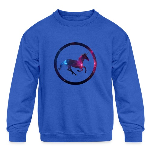 Believe Unicorn Universe 1 - Kids' Crewneck Sweatshirt
