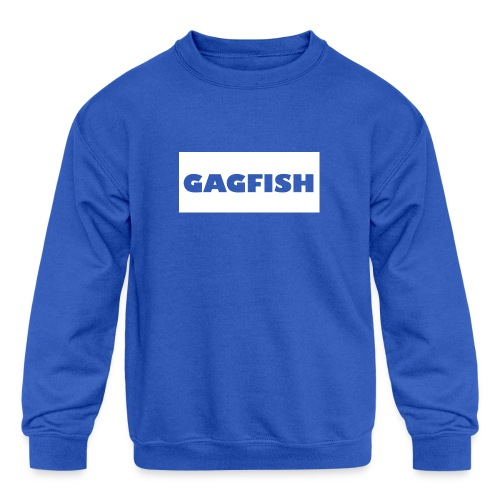 GAGFISH WIGHT LOGO - Kids' Crewneck Sweatshirt