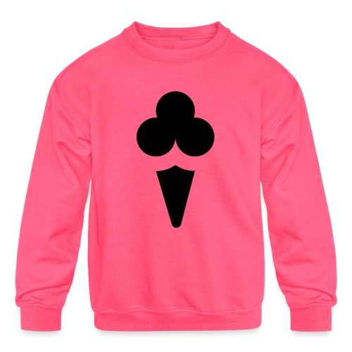 Ice cream - Kids' Crewneck Sweatshirt
