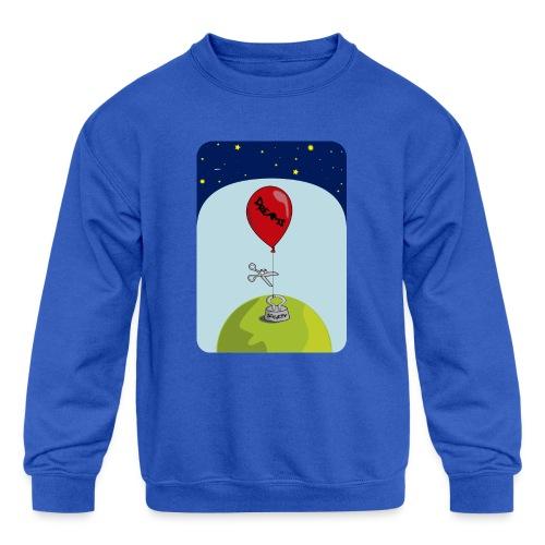dreams balloon and society 2018 - Kids' Crewneck Sweatshirt