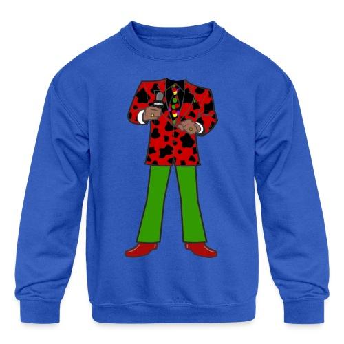 The Red Cow Suit - Kids' Crewneck Sweatshirt