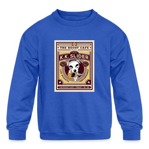 K.K Slider - Kids' Crewneck Sweatshirt