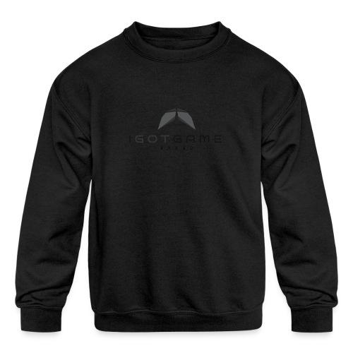 IGOTGAME ONE - Kids' Crewneck Sweatshirt
