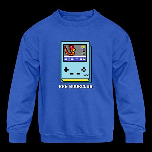 RPG Bookclub Logo - Kids' Crewneck Sweatshirt