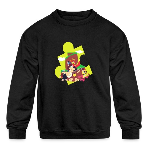 banjo - Kids' Crewneck Sweatshirt