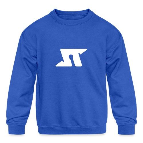 Spaceteam Logo - Kids' Crewneck Sweatshirt