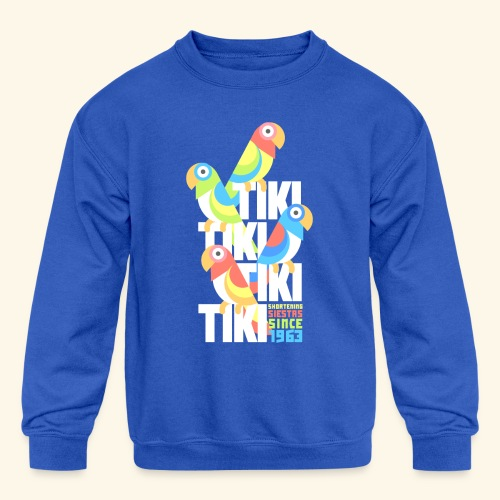 Tiki Room - Kid's Crewneck Sweatshirt