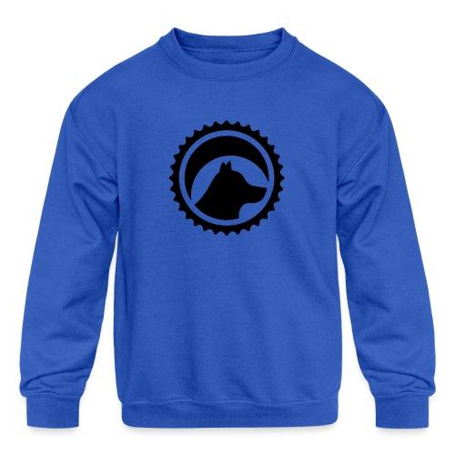 BJ1 black - Kids' Crewneck Sweatshirt