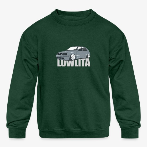 felicia lowlita - Kids' Crewneck Sweatshirt