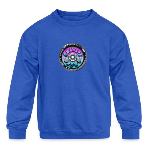 Charlie Brown Logo - Kids' Crewneck Sweatshirt