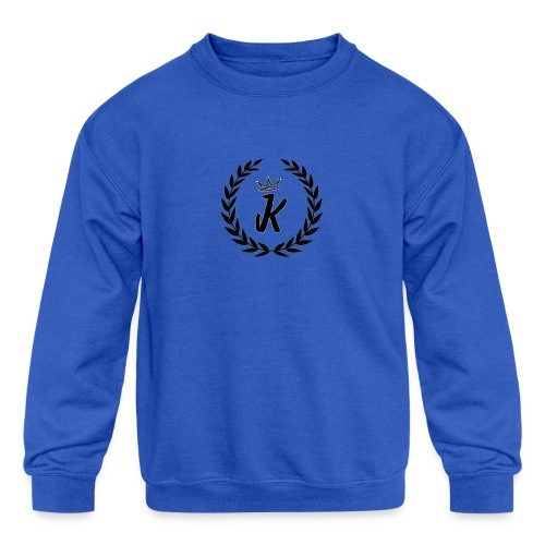 KVNGZ APPAREL - Kids' Crewneck Sweatshirt