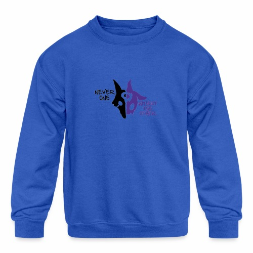 Kindred's design - Kids' Crewneck Sweatshirt