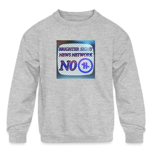 NO PAUSE - Kids' Crewneck Sweatshirt
