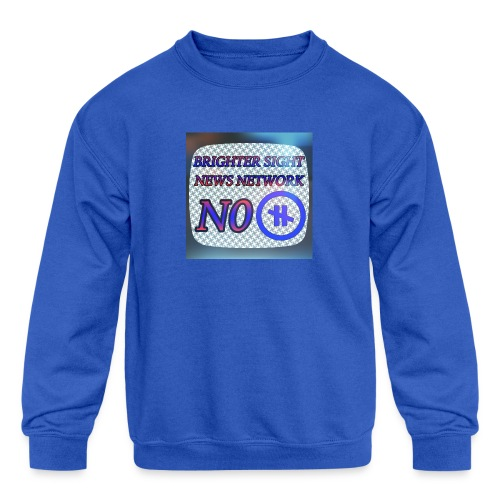 NO PAUSE - Kids' Crewneck Sweatshirt