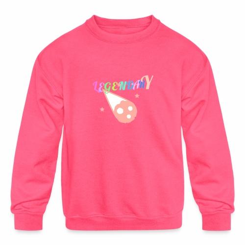 Legendary - Kids' Crewneck Sweatshirt