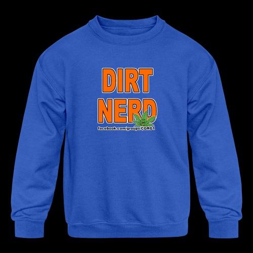 Dirt Nerd - Kids' Crewneck Sweatshirt