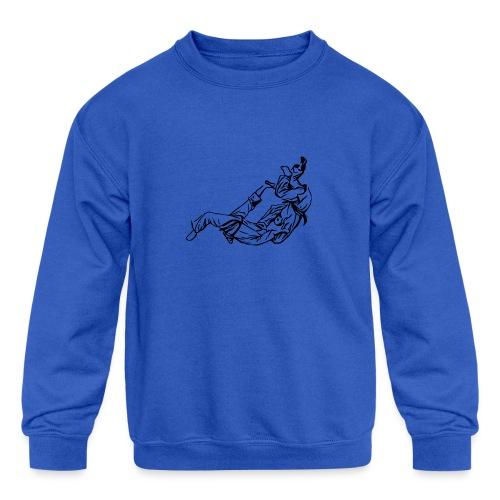 Jiu Jitsu / Judo - Kids' Crewneck Sweatshirt