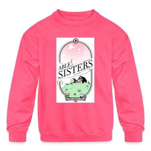 The Able Sisters - Kids' Crewneck Sweatshirt