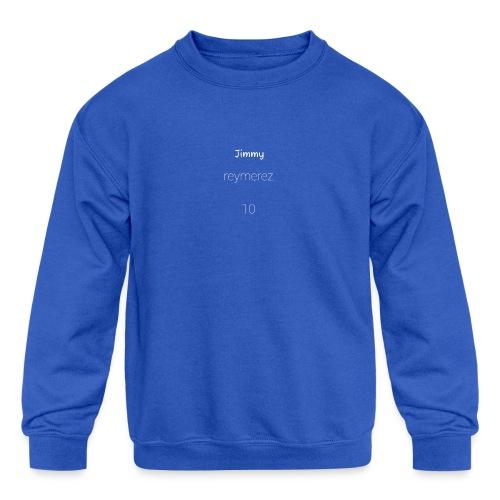 Jimmy special - Kids' Crewneck Sweatshirt